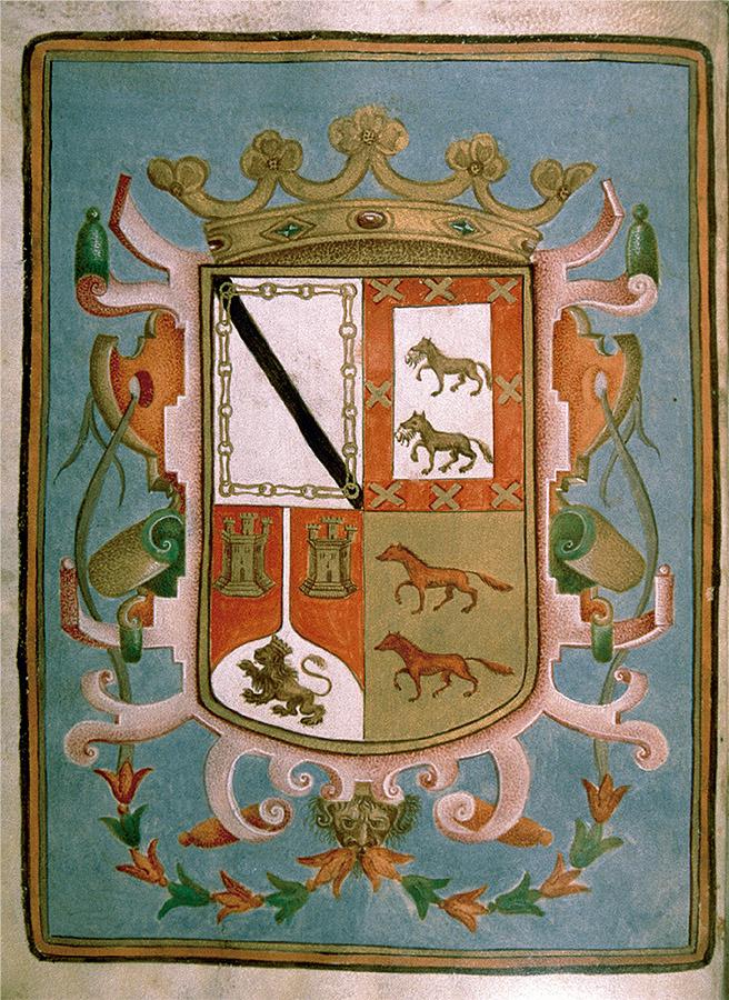 Regla de la congregación y hermandad de Nuestra Señora de los Dolores de Valladolid, 1694, fol. 1v. Archivo del Ducado de Pastrana.