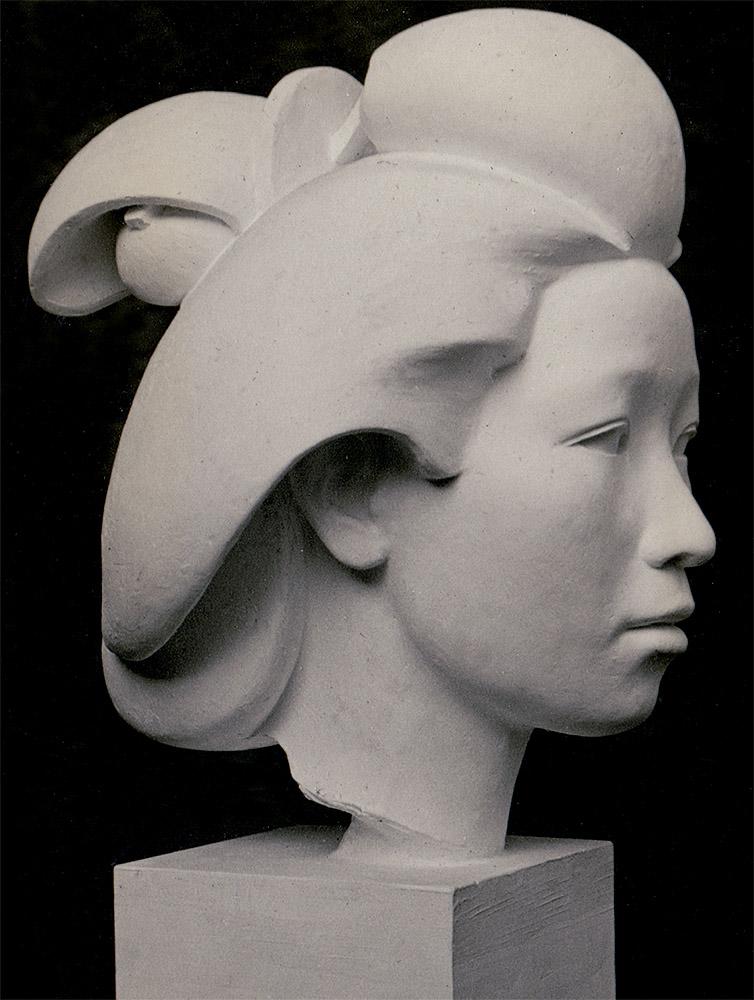 """Eudald Serra: """"Geisha"""", 1938. Fotografía del artista. Colección particular."""