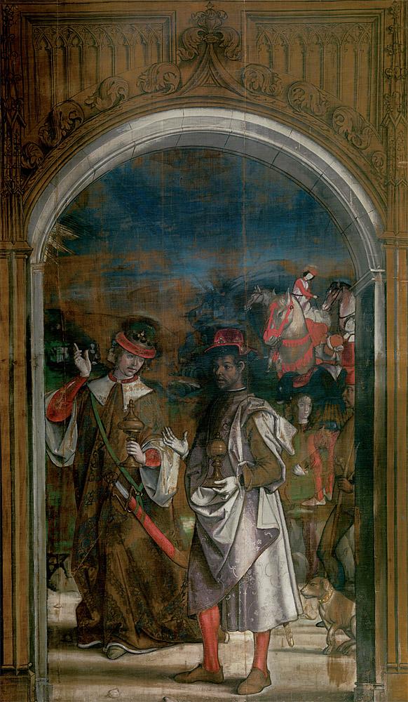 """Pedro Berruguete: """"Dos Reyes Magos"""", temple sobre lienzo, 1493-1499. © Museo Nacional del Prado, Madrid."""
