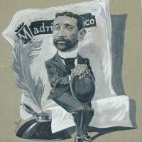 El ilustrador Pedro de Rojas en el Museo Lázaro Galdiano