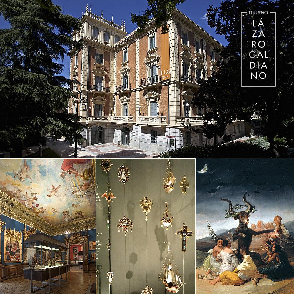 Imágenes del exterior y de las salas del Museo Lázaro Galdiano