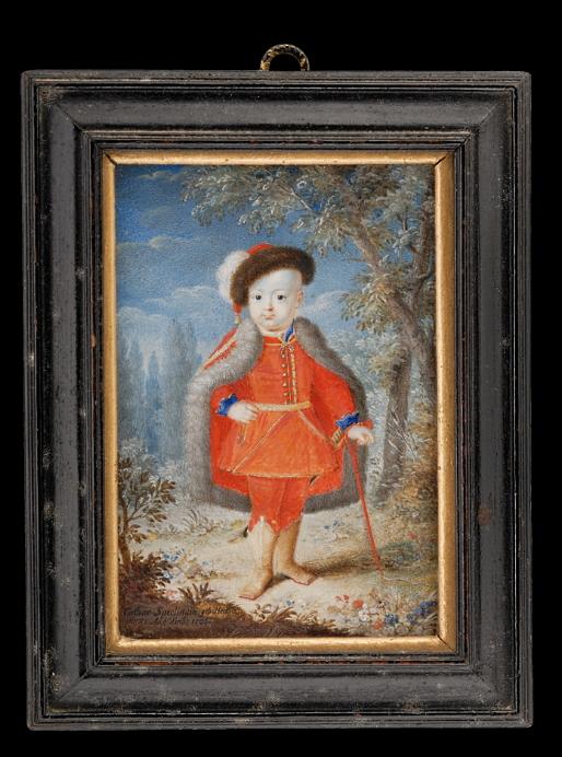 Catharina Sperling-Heckel, Carlos Eduardo Estuardo (1726). Fundación Tansey, Ref. no.: 10658.