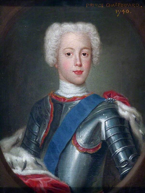 Prince Charles Edward Stuart (1740), Antonio David. V & A Museum