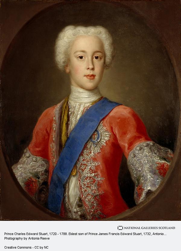 """Prince Charles Edward Stuart"" (1732), Antonio David. National Galleries Scotland. Photography by Antonia Reeve"