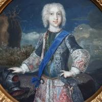 """Retrato del príncipe Carlos Eduardo Estuardo, el """"Joven pretendiente"""". Miniatura del Museo Lázaro Galdiano"""