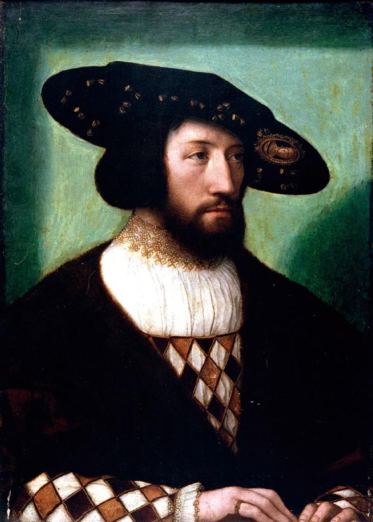 """BERNARD VAN ORLEY: """"Retrato de noble desconocido"""". Museo Lázaro Galdiano"""