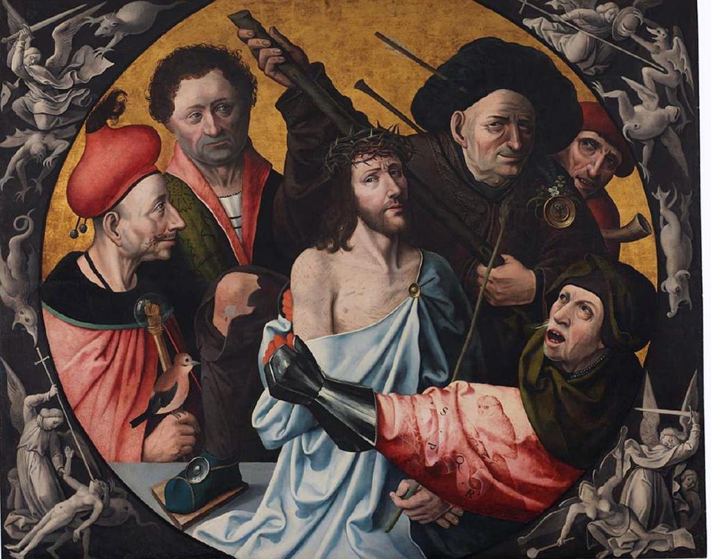 """SEGUIDOR DEL BOSCO: """"Injurias a Cristo"""". Museo Lázaro Galdiano"""