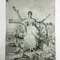 """Agustina de Aragón, un personaje destacado en la exposición """"Ruinas de Zaragoza. Dibujos y estampas de la Colección Lázaro"""""""
