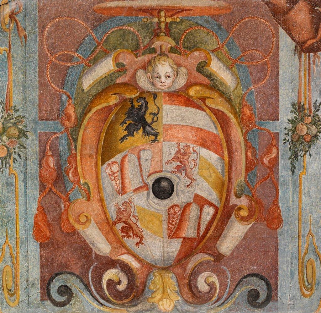 El escudo de armas de Raitenau desde 1592