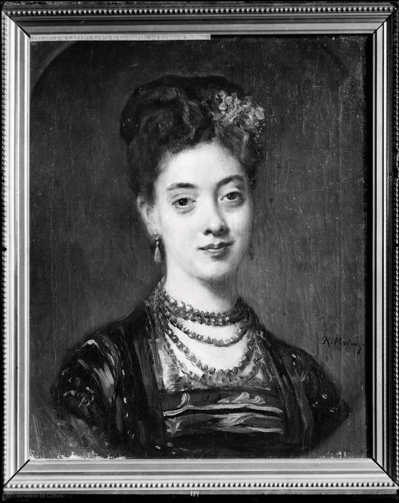 Retrato de Consuelo Gaztambide. Fotografía del Archivo Moreno. IPCE, Madrid.
