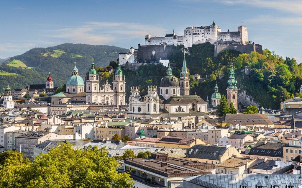Imagen de la Salzburgo actual