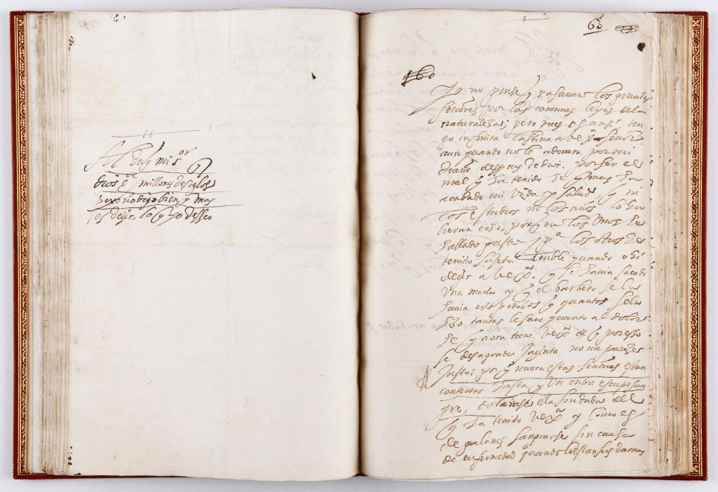 FÉLIX LOPE DE VEGA CARPIO: Cartas al duque de Sessa. Entre 1610 y 1617, manuscrito autógrafo. Inv. 15652