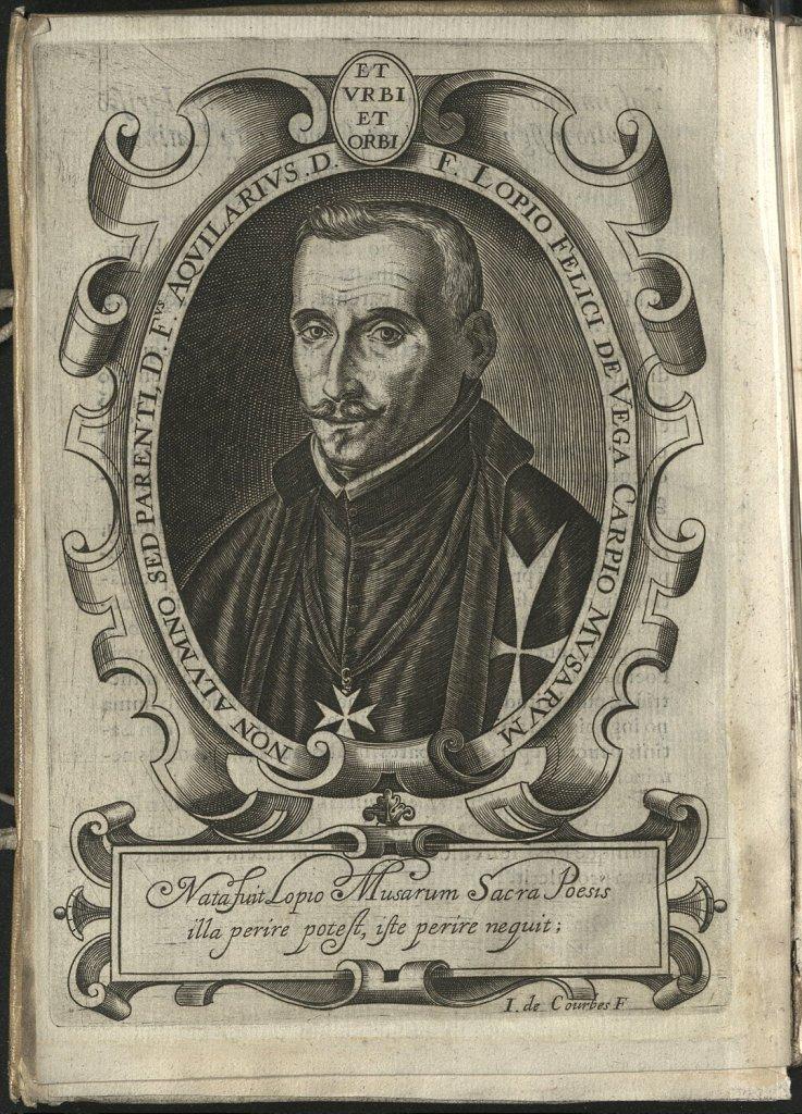 Figura 3. JUAN DE COURBES: Lope de Vega. Laurel de Apolo, Juan González. Madrid (1630). Biblioteca Lázaro Galdiano
