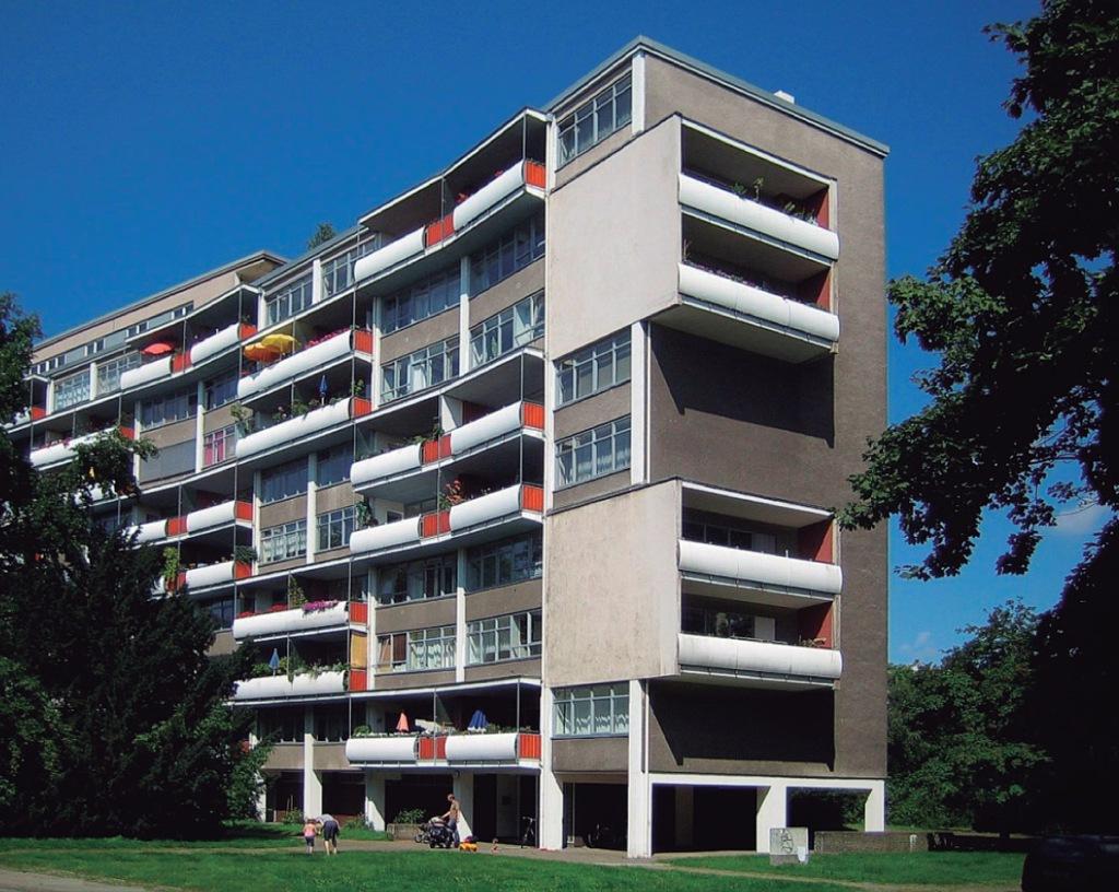Walter Gropius: Walter-Gropius Haus, 1957, Hansaviertel, Händelallee