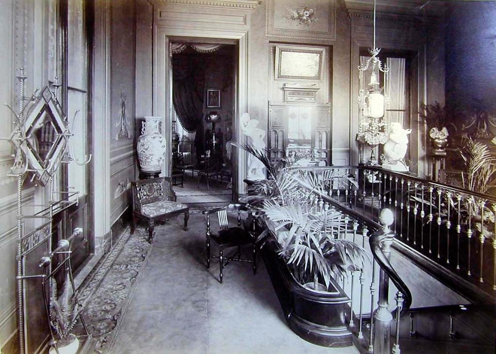 Foto 11. Entrada a la casa de Paula Florido en la calle Lavalle de Buenos Aires.