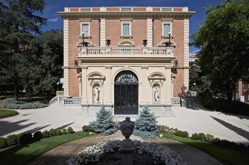 Foto 1. Palacio de Parque Florido. Fachada principal.