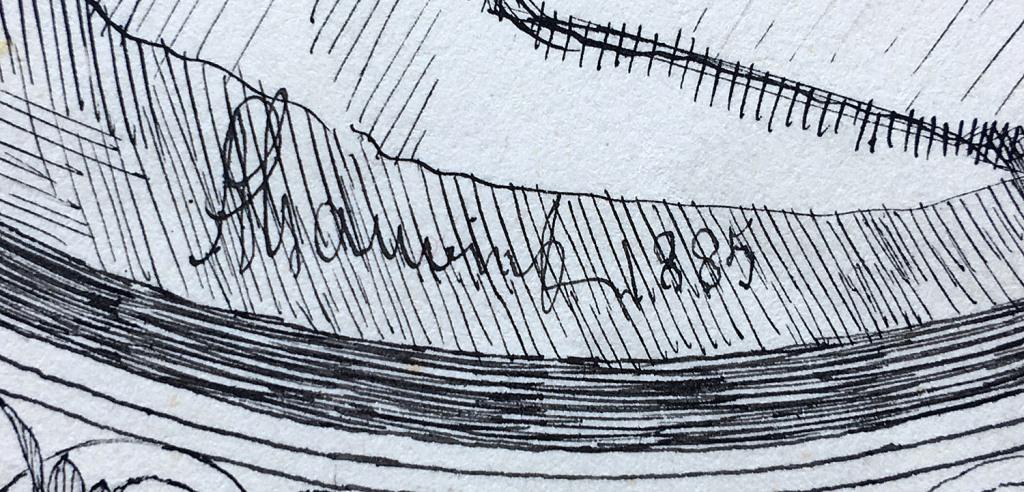 Fig. 2. Detalle de la firma