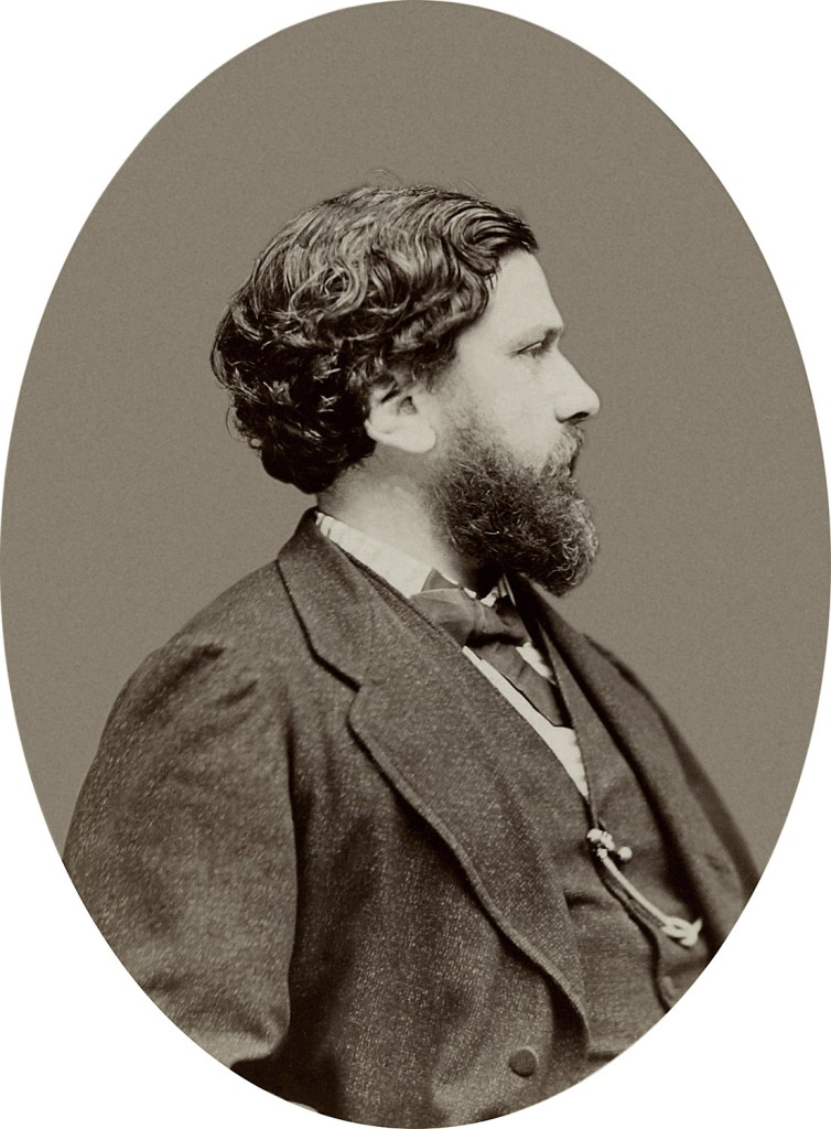 Fig. 6. Étienne Carjat. Philippe Burty. 1873. BNF, PET FOL-EO-50 (1)