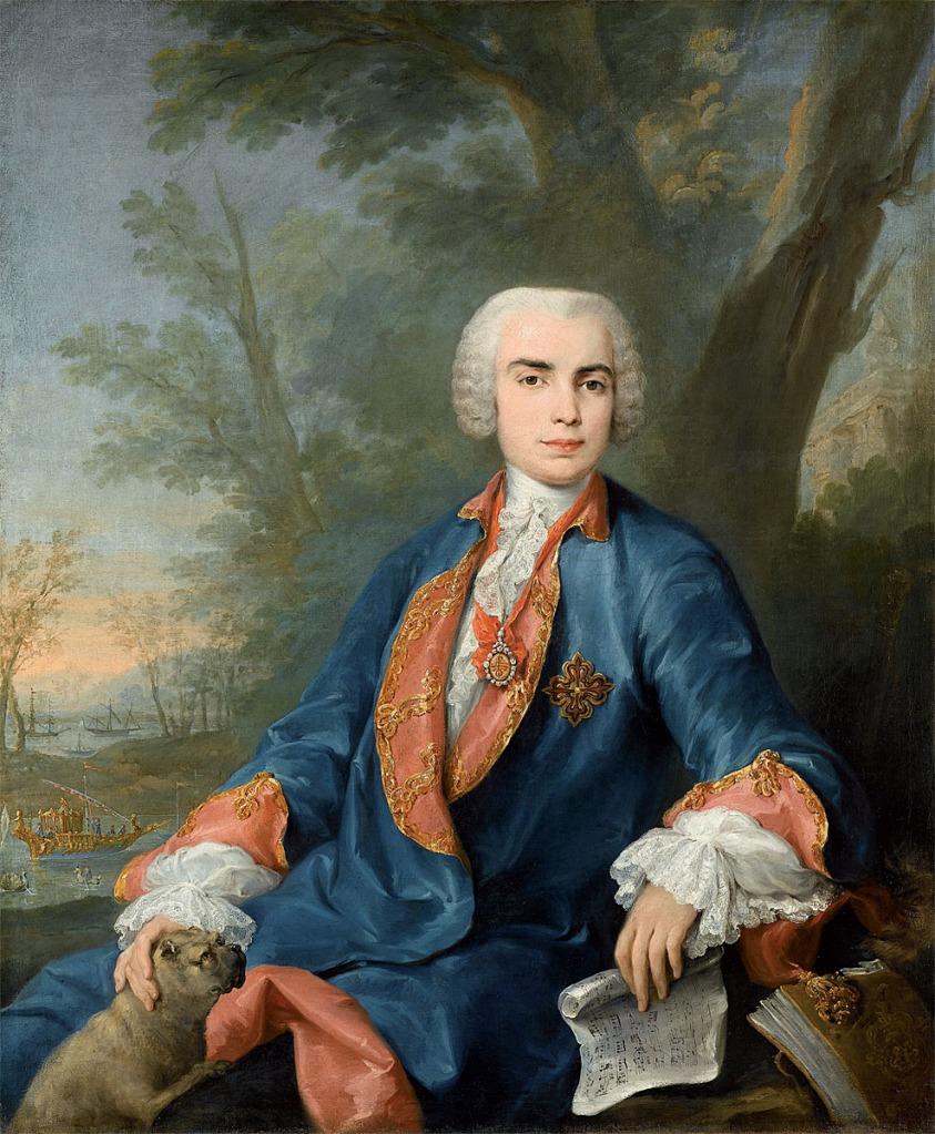 Jacopo Amigoni: Retrato de Carlo Broschi, Farinelli, ca. 1752. bpk/Staatsgalerie, Stuttgart.