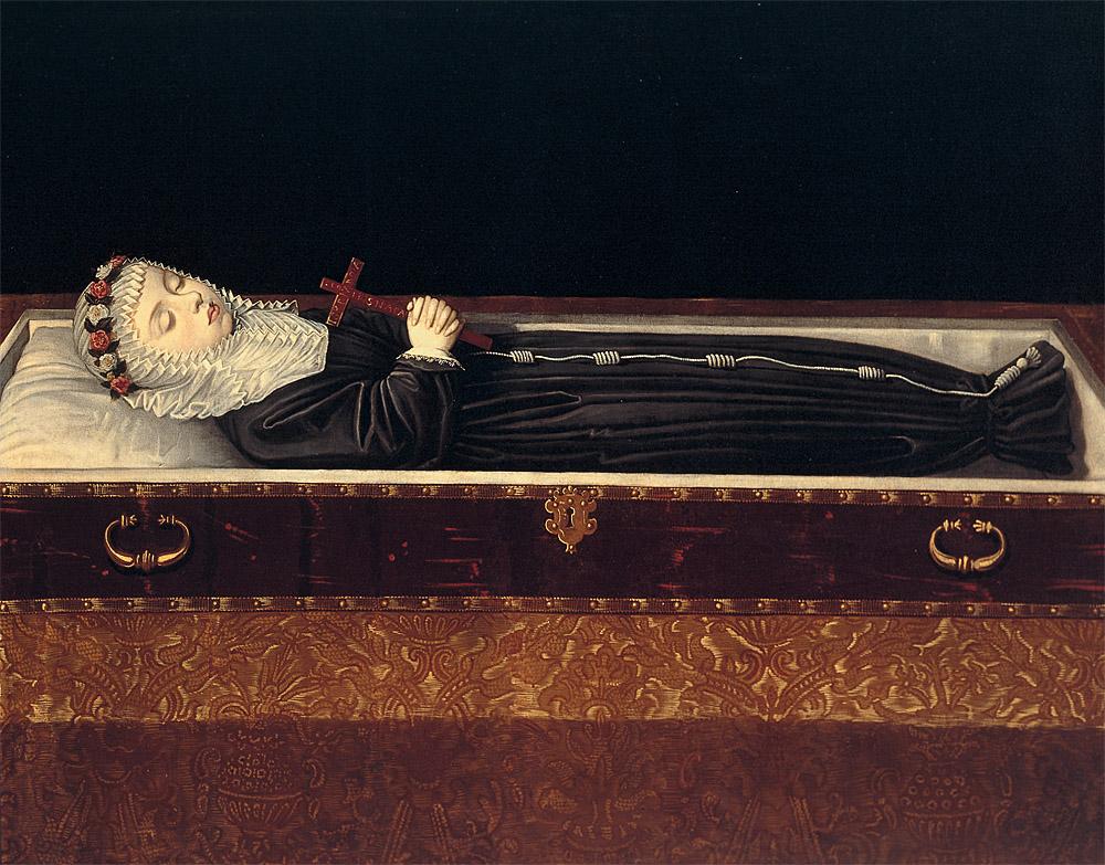 """Bartolomé González: """"La infanta Margarita Francisca"""", 1617. Monasterio de las Descalzas Reales, Madrid."""
