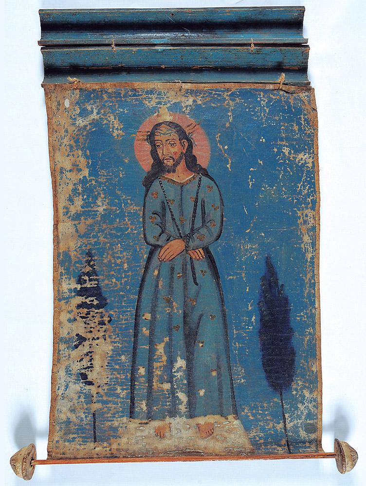 "Anónimo, ""Jesús Nazareno portátil"". Museo Histórico Nacional de Chile, Santiago de Chile, nº inv. 3-2446."
